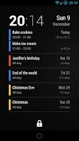 Screenshot of Neat Calendar Widget