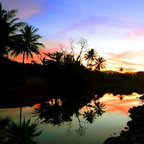 Refleksi... :-) by Dwi Ratna Miranti - Landscapes Sunsets & Sunrises