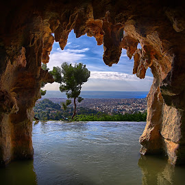 View over Nice by Jan Kiese - Landscapes Caves & Formations ( nice )