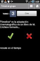 Screenshot of Trivial en grupo