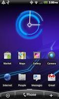 Screenshot of 3.0 Honeycomb Clock Lite