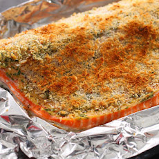 Basic Baked Breaded Salmon Recipe