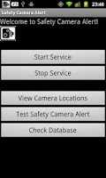 Screenshot of Irish Safety Camera Locations