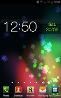 Screenshot of Jelly Bean Live Wallpaper