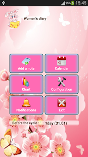 App Woman diary (calendar) apk for kindle fire