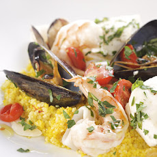 Fish Stew with Saffron Couscous