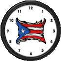 Puerto Rico FlagClock Widget icon