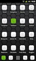 Screenshot of LauncherPro Miui White Pack