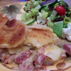 Heavenly Potatoes and Ham