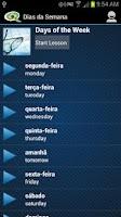 Screenshot of Learn Portuguese - Tudo Bem