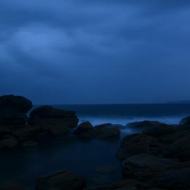 Paddle by Kamila Romanowska - Nature Up Close Rock & Stone ( mystic, water, mystical, nature, australia, ocean, morning, rocks, sydney )