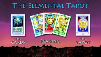 Screenshot of The Elemental Tarot