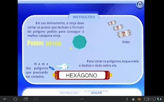 Screenshot of Corte os Polígonos