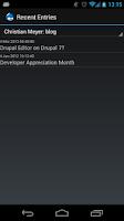 Screenshot of Drupal Editor