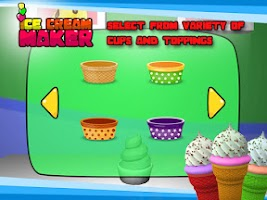 Screenshot of Ice Cream Maker– 3D Cooking