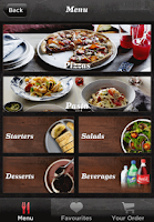 Screenshot of Crust Gourmet Pizza Bar