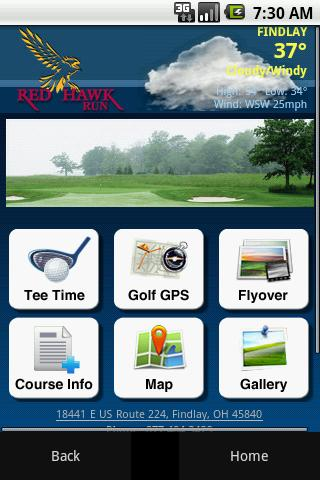 Red Hawk Run Golf Course