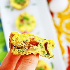Mini Vegetable and Bacon Frittatas
