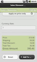 Screenshot of Sales Calculator For eCommerce