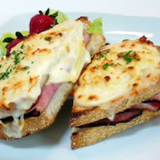 The Ultimate Croque Monsieur - Baked French Bistro Sandwich