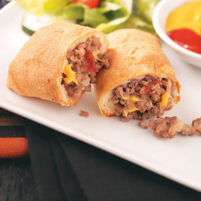 Bacon Cheeseburger Roll-Ups