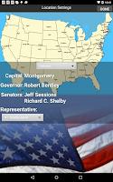 Screenshot of Free US Citizenship Test