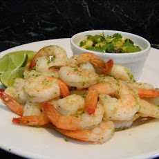 Thai Prawns With Mango Salsa