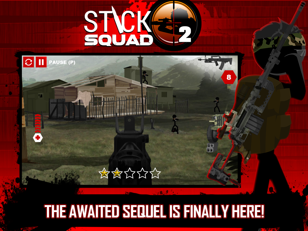 Stick Squad 2 - Shooting Elite Screenshot 11