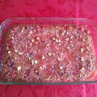 Cherry Walnut Bars
