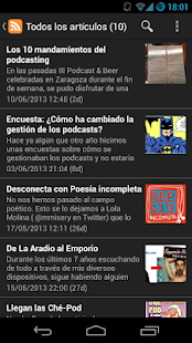 La Podcastfera - screenshot