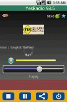 Screenshot of Radio Thailand