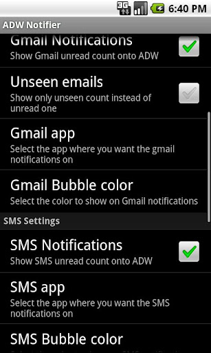 adwnotifier for android screenshot