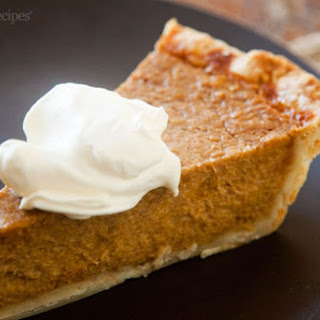 Suzanne's Old Fashioned Pumpkin Pie
