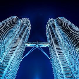 Petronas @ Night by Jijo George - Buildings & Architecture Architectural Detail ( famous place )