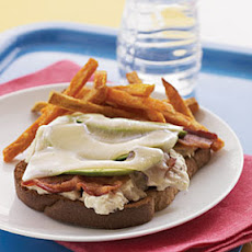 Open-Faced Avocado-Bacon Tuna Melt