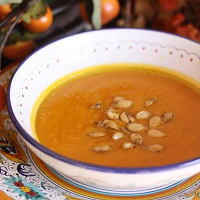 Roasted Pumpkin & Pear Soup