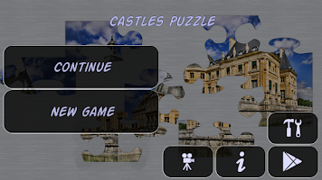 Screenshot of Castles Puzzle