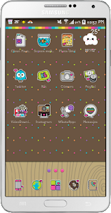 Cool Go Launcher Theme - screenshot