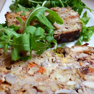 Lentil and Dried Fruit Terrine