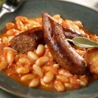 Cannellini Beans and Italian Sausage