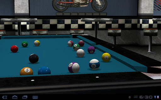 Virtual Pool Mobile - screenshot
