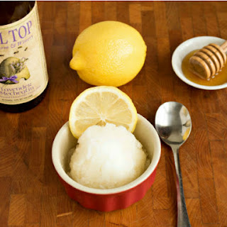 Lemon Lavender Mead Sorbet