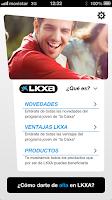Screenshot of LKXA