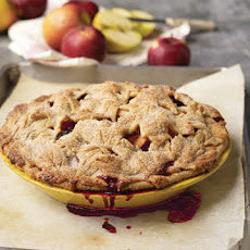 Apple-Blackberry Pie with