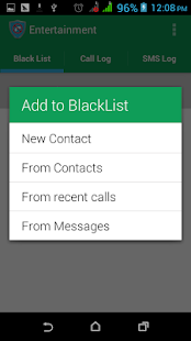 Block Call And SMS - screenshot