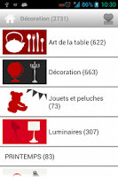 Screenshot of FLY, Meubles et Décoration