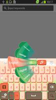 Screenshot of Lovely Skin for Keyboard