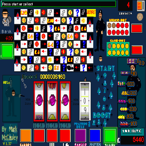 Cops n Robbers Slot machine - screenshot