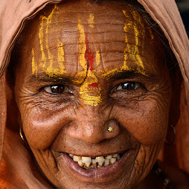 In Happy Mood by Rakesh Syal - People Portraits of Women