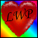 Colorful hearts icon